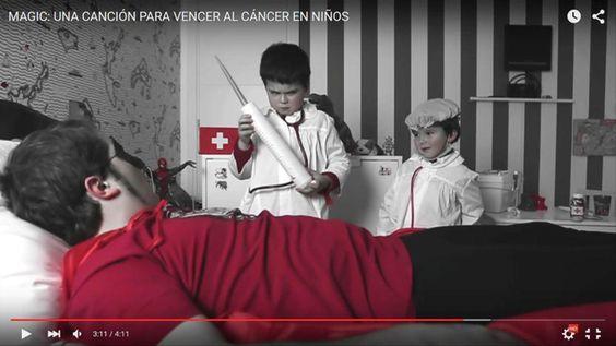 """LOS BRAZOS """"Magic"""", un videoclip solidario contra el cáncer"""