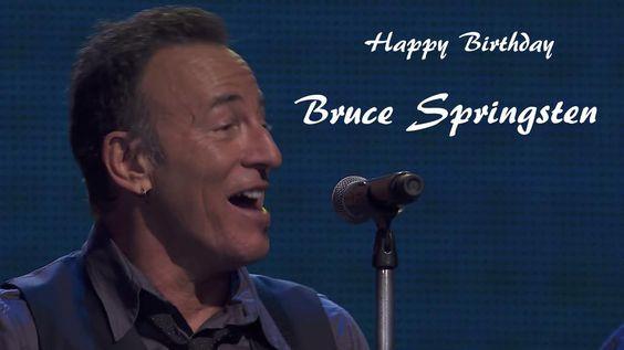 Happy Birthday Bruce @springsteen