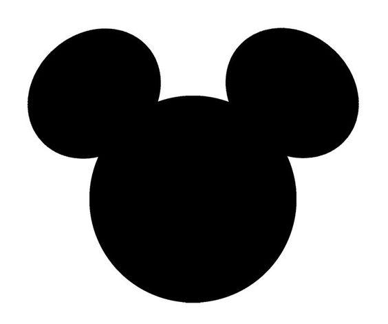 Adesivos De Vinil Walt Disney Orelhas Mickey Mouse