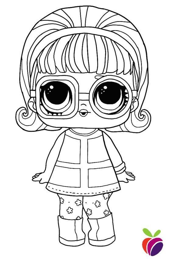 Lol Surprise Sparkle Series Coloring Page Go Go Gurl Coloring1 Kids Coloring Books Cute Coloring Pages Baby Coloring Pages