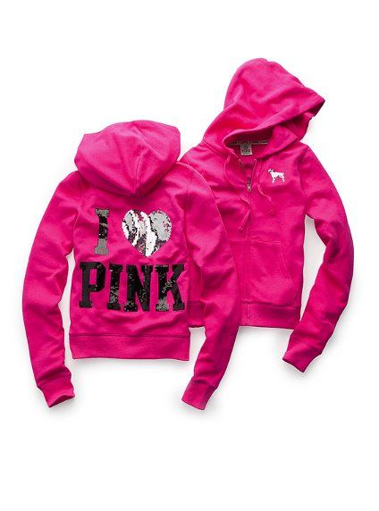 Love Pink Clothing | Fashion » Victoria's Secret Pink Hoodies ...