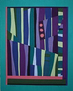 """Plainsong by Geri deGruy Fiber ~ 20"""" x 16"""""""