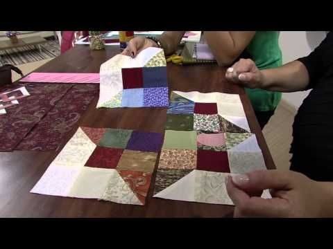 423 best Patchwork video images on Pinterest | Quilting tutorials ... : youtube patchwork quilt videos - Adamdwight.com