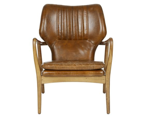 Laura Ashley Whitworth Leather Chair #TimelessCountry #interiors