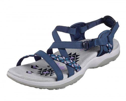 Skechers Reggae Slim Vacay Navy Sporty Comfort Sandals