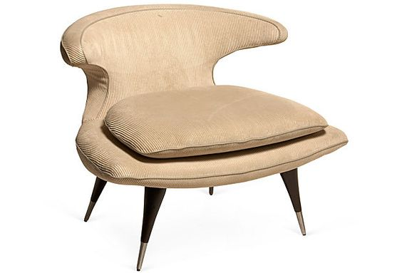 Midcentury Boomerang Chair
