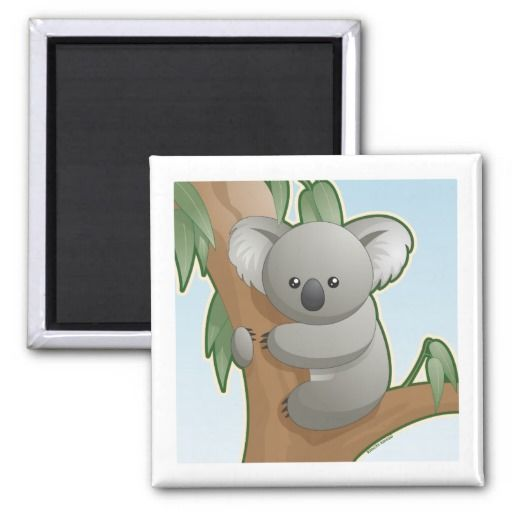 Kawaii Koala Refrigerator Magnet