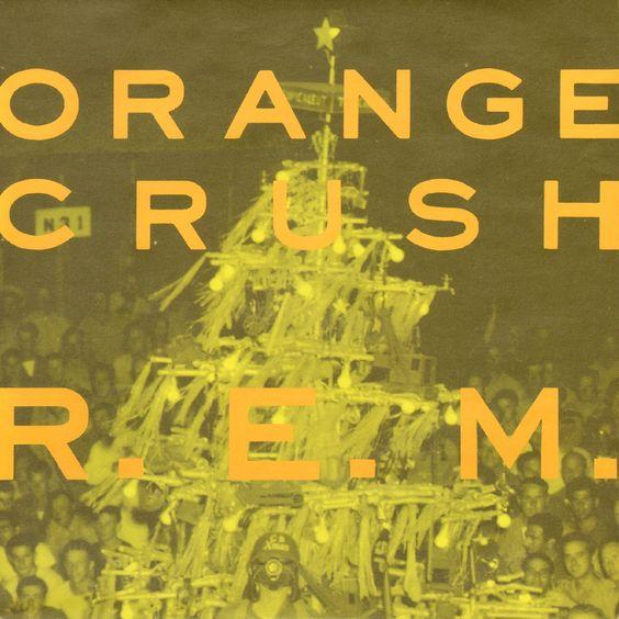 R.E.M. – Orange Crush (single cover art)