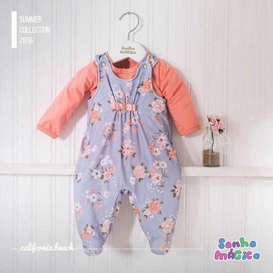 Moda Bebê | Moda Baby | Macacão | Para a Princesa