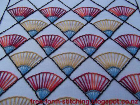 Free Form Stitching: TAST - Buttonhole Wheel TIF