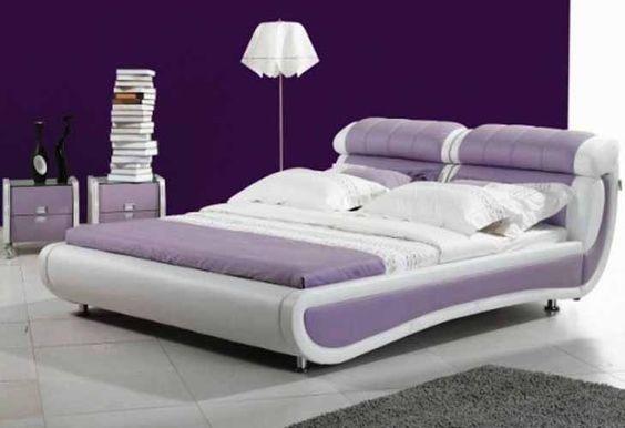 décoration violet | ... violette, voici quelques idées fraîchesde chambres à coucher violet