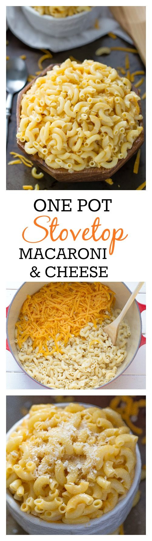 Creamy macaroni and cheese, Macaroni and cheese and One pot on ...