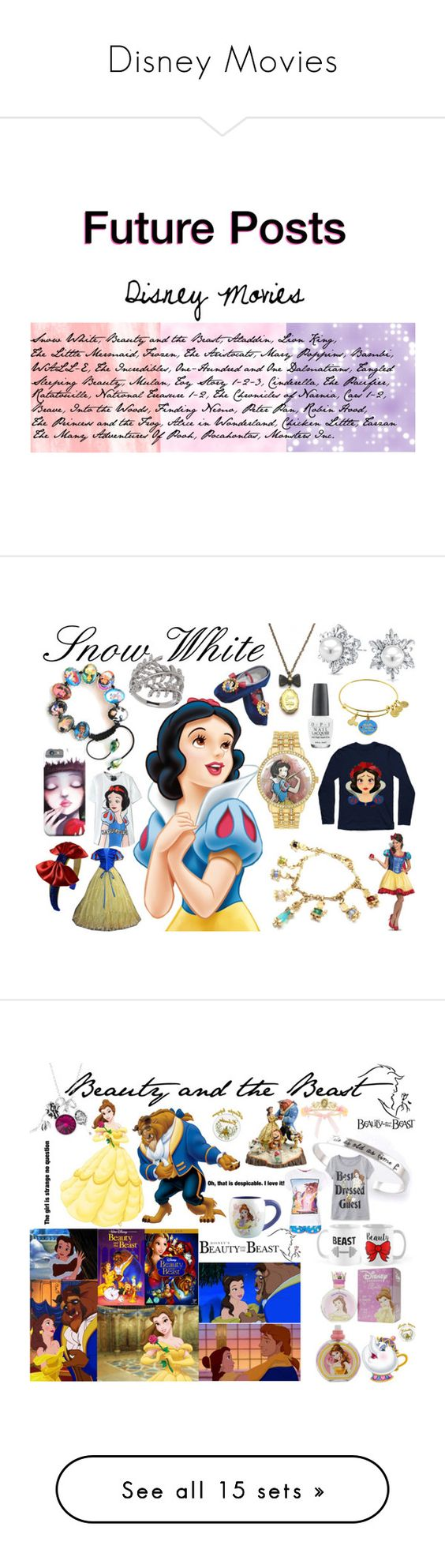 """Disney Movies"" by taradactyl22 on Polyvore featuring art"