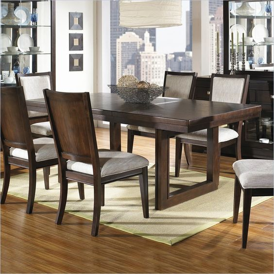 More The O Jays Casual Shadows Modern Tables Dining Tables Chocolate
