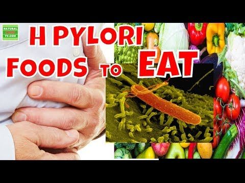 foods to avoid after h pylori treatment