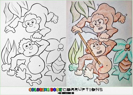 14 Coloring Book Corruptions | Pleated-Jeans.com
