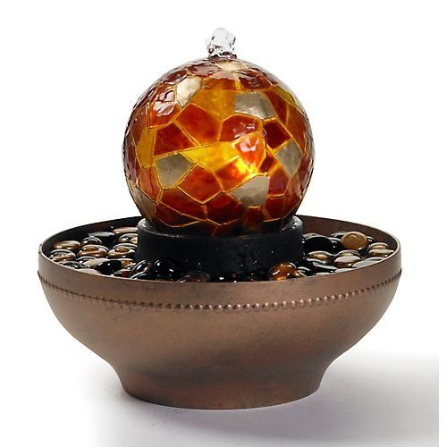 Indoor fountains  - Pin it :-) Follow us, CLICK IMAGE TWICE for Pricing and Info . SEE A LARGER SELECTION of indoor fountains at http://azgiftideas.com/product-category/indoor-fountain/  - gift ideas , home decor   -   Homedics WFL-ART Artesian Globe Tabletop Fountain