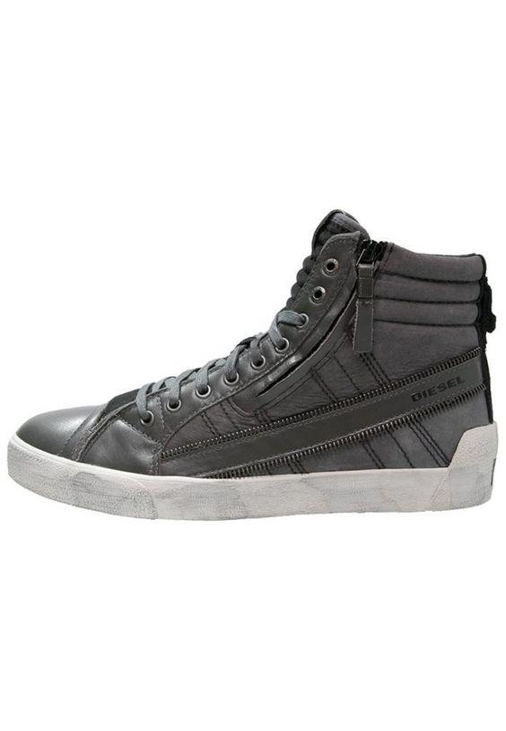 #Diesel #DSTRING #PLUS #Sneaker #high #castlerock/black für #Herren -