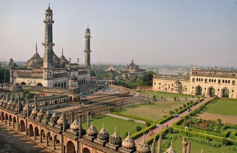 Kritarth Seth shows us Imambara in Lucknow, India