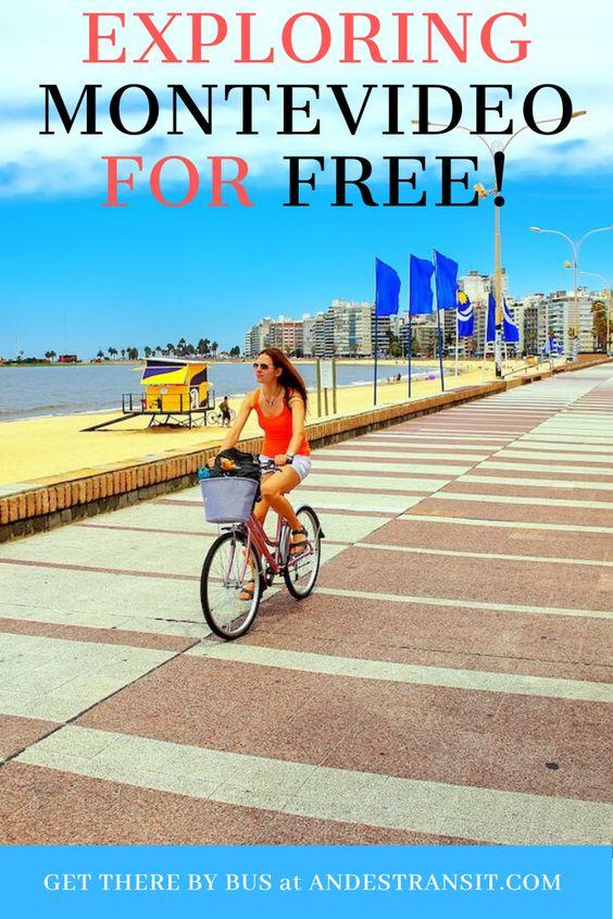 Exploring Montevideo for free while having fun (Pinterest)