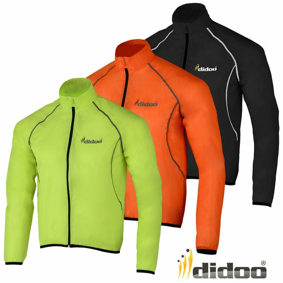 Details about Mens Cycling Jacket High Visibility Waterproof ...