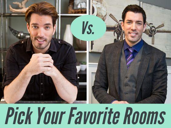 Room Vs. Room: Pick Your Fave Property Brothers' Designs (http://blog.hgtv.com/design/2014/04/30/room-vs-room-pick-your-fave-property-brothers-designs/?soc=pinterest)