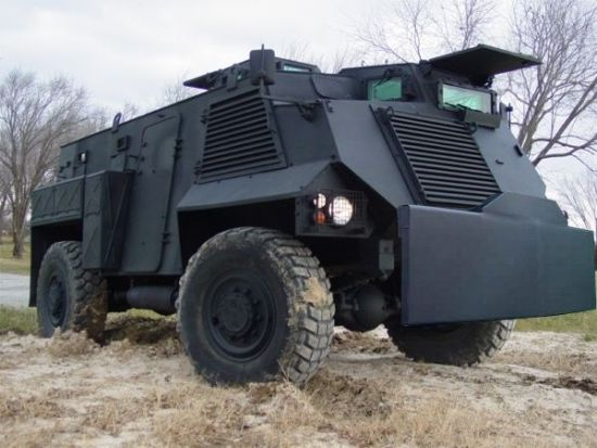 Alvis Saxon Armoured  anti riot vehicle. Built by Alvis but developed by GKN Sankey
