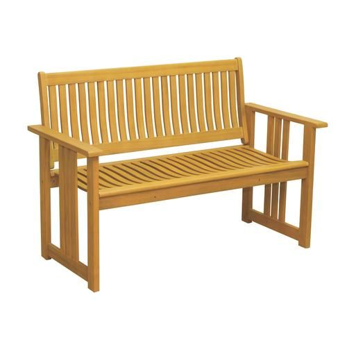 Backyard Creations Bayfield Outdoor Bench At Menards Backyard Creations Reg Bayfield Outdoor Bench Patio Benches Outdoor Bench Backyard Creations