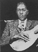 "Clifford ""Grandpappy"" Gibson (April 17,1901-December 21,1963) was a  blues singer and guitarist. He is best known for the tracks, ""Bad Luck Dice"" and ""Hard Headed Blues"". In 1929 he began recording for the QRS and Victor labels. He is regarded as one of the earliest urban blues performers, with no pronounced rural influences. His guitar playing style resembled that of Lonnie Johnson."