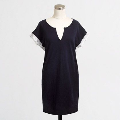 Factory crochet-trim tunic - Shirts & Tops - FactoryWomen's New Arrivals - J.Crew Factory