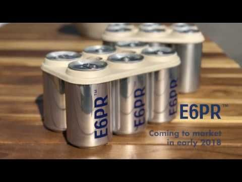 Launch Of Edible Six Pack Rings Offer Brewers An Eco Friendly Alternative Biodegradable Products Beer Beer Packaging