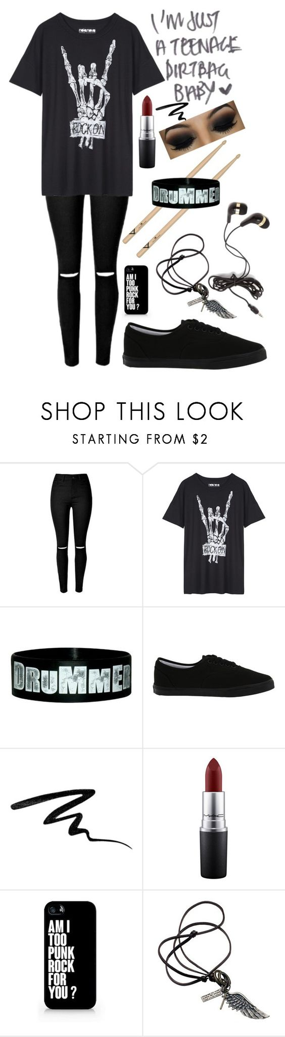 """Untitled #189"" by choice-to-be ❤ liked on Polyvore featuring Vans, Eyeko, MAC Cosmetics, Samsung and Forever 21"