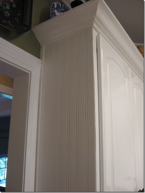 Beadboard Wallpaper Project Bead Board Cabinets