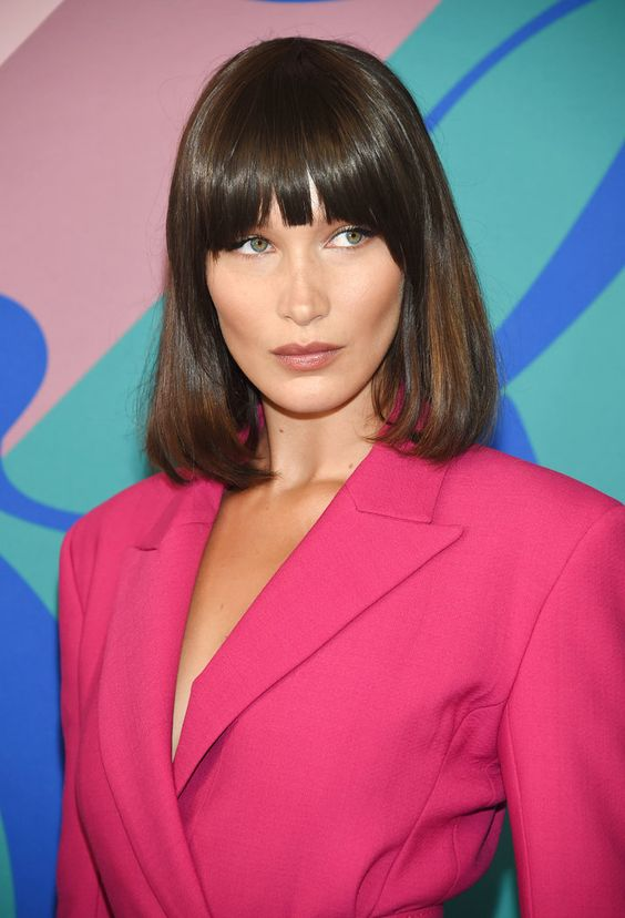 Bella Hadid Gets Bangs at the CFDA Awards | InStyle.com