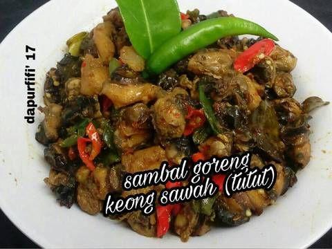 Resep Sambal Goreng Tutut Oleh Dwi W Resep Kari Resep Tumis
