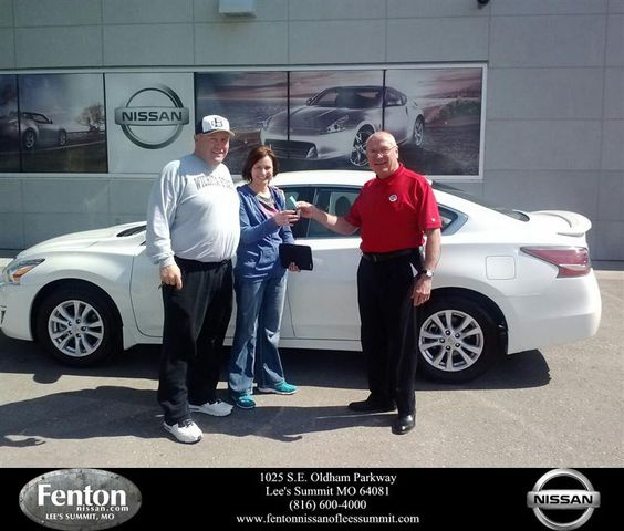 Great customer service at Fenton Nissan. Tony shuff provided excellent customer service. Listened to what we wanted and made sure that at the end of the day we went home a satisfied customer. Would totally recommend this car dealership and Tony to all my friends and family.  Christina smith Saturday, March 15, 2014