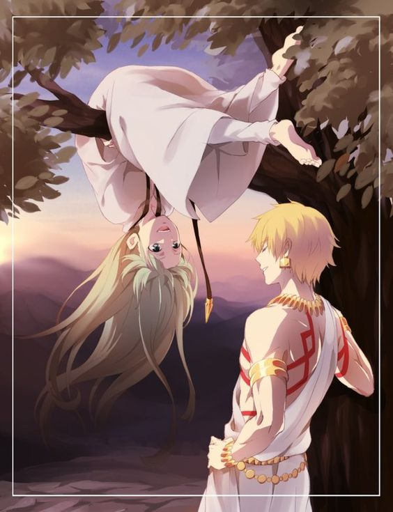 Gilgamesh and Enkidu - Fate/series