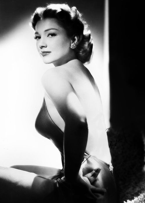 Anne Baxter USA Film Actress Of The 40's and 50's