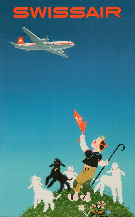 Donald Brun, Swissair: