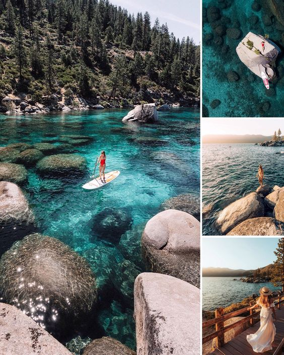 Lake Tahoe, United States 14 most stunning places to travel with your Significant Other - Todaywedate.com
