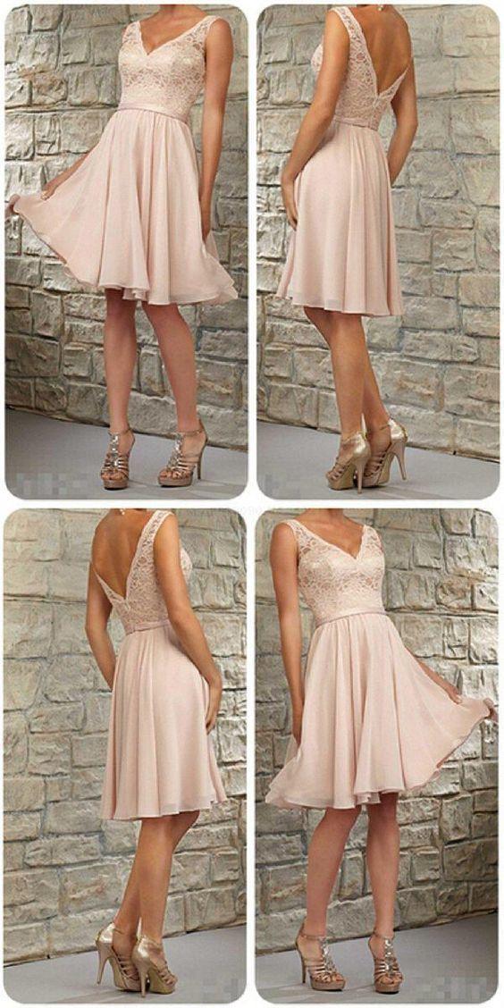 42+ Blush bridesmaid dresses short trends