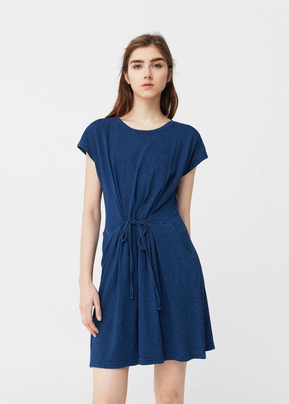 Vestido algodón | MANGO