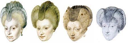 Chaperon des années 1600