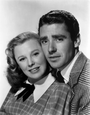 June Allyson and Peter Lawford publicity still for Good News. Great Movie!