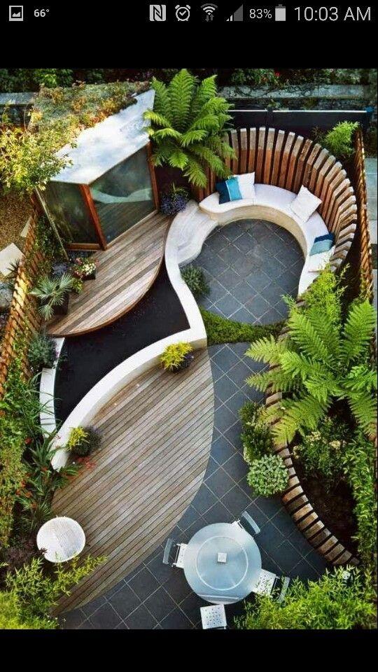 Pin By Anna Owens On Pɑtiѳร Gʀѳuɳɗ Wѳʀk Pinterest Magnificent Backyard Paradise Landscaping Ideas