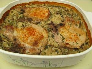 Pork chop mushroom soup casserole recipes
