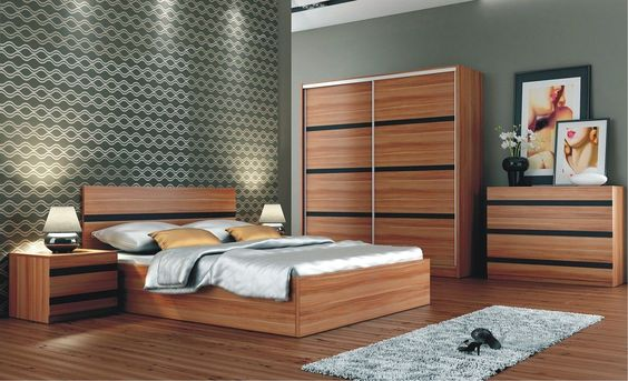 Santana Black bedroom sets, White bedroom set and Furniture sets - schlafzimmer set 140x200