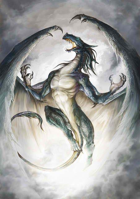 強そうなドラゴンの壁紙