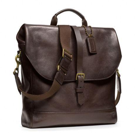 BLEECKER LEATHER PANNIER BAG