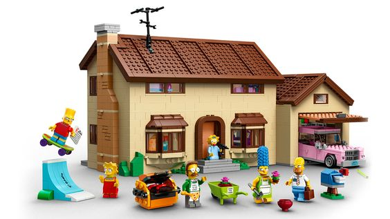 The Lego Simpsons House. This may be the best set ever. Really needed this right now.